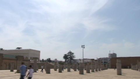 Mausoleum of Mohammed V Footage