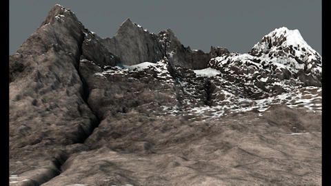 Mountain Peak 2 High Poly 3D Model 3D Model