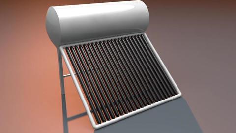 [alt 3d] Solar Water Heater