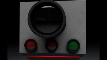 Traffic Vehicle Speed Control Unit 3D Model