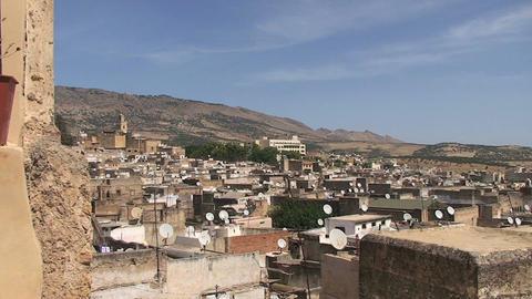 View over Rabat Footage