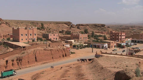 Dades Valley, rose valley Footage