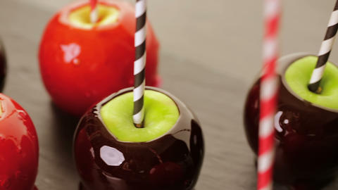 Candy apples Footage