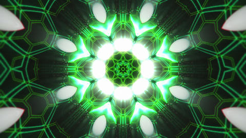 VJ Loop Color Energy Kaleidoscope 11 Animation