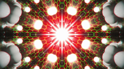 VJ Loop Color Energy Kaleidoscope 1 Animation