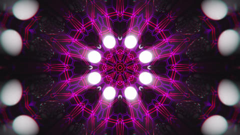 VJ Loop Color Energy Kaleidoscope 13 Animation