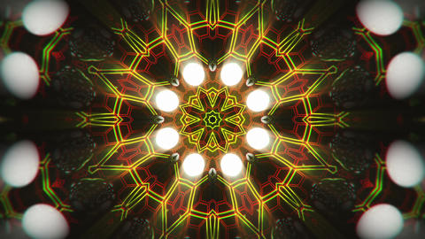 VJ Loop Color Energy Kaleidoscope 14 Animation