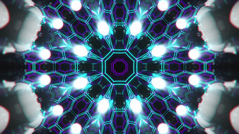 VJ Loop Color Energy Kaleidoscope 3 Animation