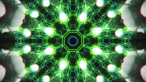 VJ Loop Color Energy Kaleidoscope 4 Animation