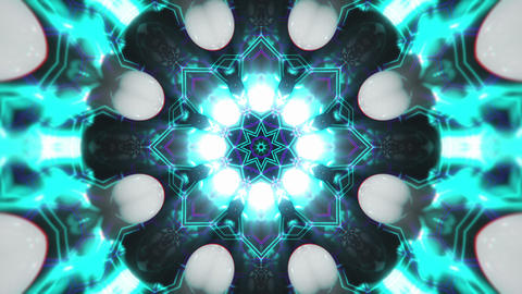 VJ Loop Color Energy Kaleidoscope 7 Animation