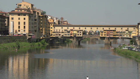 Ponte Vecchio, Florence, Italy Footage