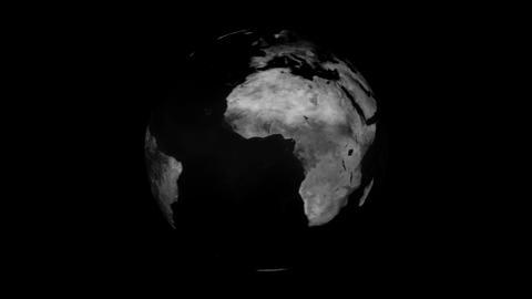 Black world - rotating Animation
