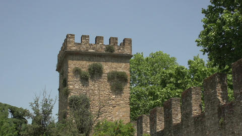 Tower of Porta San Frediano Footage