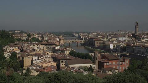 Skyline Florence from Piazalle Michelangelo Footage