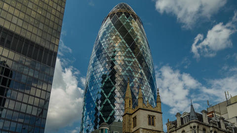 The Gherkin and The City Timelapse