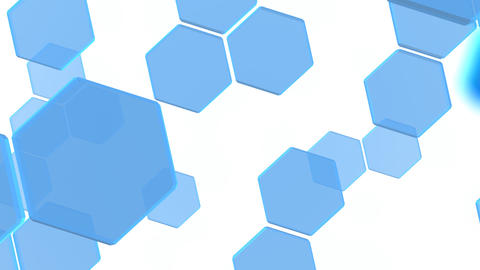 Hexagon 2 Aa 3 HD Stock Video Footage