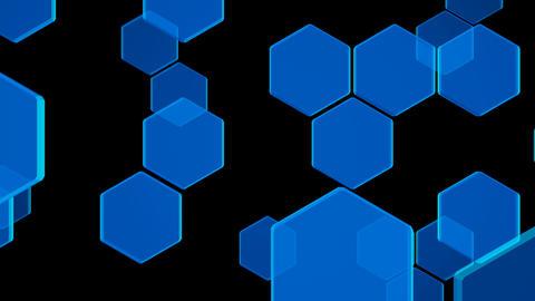Hexagon 2 Ba 1 HD Stock Video Footage