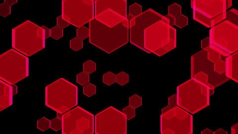 Hexagon 2 Bb 1 HD Stock Video Footage