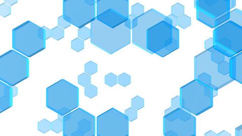 Hexagon 2 Bb 3 HD Stock Video Footage