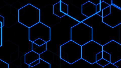 Hexagon 2 Bd 1 HD Stock Video Footage