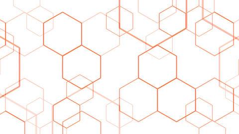 Hexagon 2 Bd 3 HD Stock Video Footage