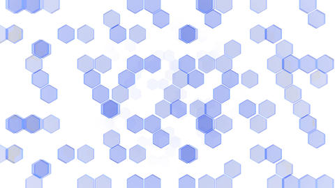 Hexagon 2 Cb 3 HD Stock Video Footage