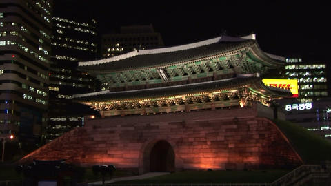 Namdaemun Stock Video Footage