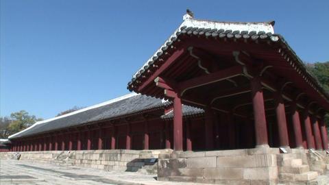 Chongmyo Shrine Stock Video Footage