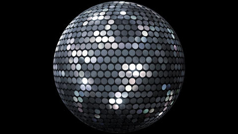 Mirror Ball 2 Fs 1 HD Stock Video Footage