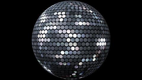 Mirror Ball 2 Fs 1 HD Stock Video Footage
