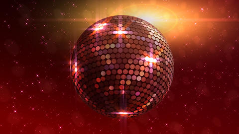 Mirror Ball 2 Nc 1 HD Stock Video Footage
