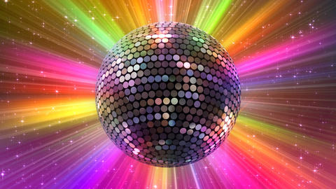 Mirror Ball 2 Ba 2 HD Stock Video Footage