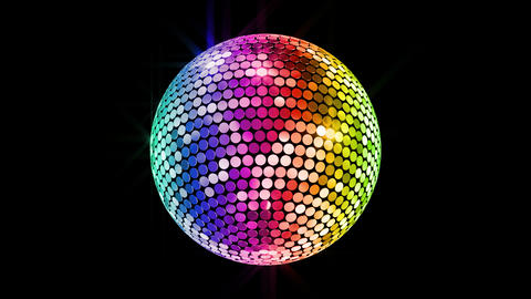Mirror Ball 2 Br 1 HD Stock Video Footage