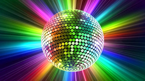 Mirror Ball 2 Br 3 HD Stock Video Footage