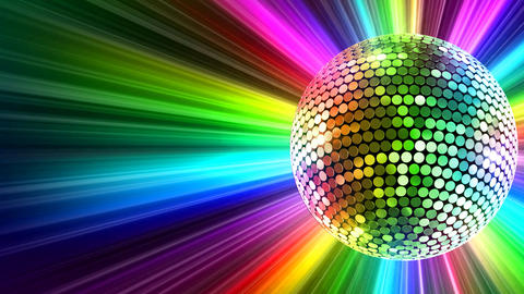 Mirror Ball 2 Br 5 HD Stock Video Footage
