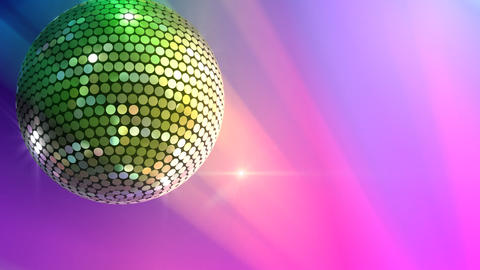 Mirror Ball 2 Sb 2 HD Stock Video Footage