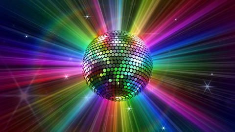 Mirror Ball 2 Sd 2 HD Stock Video Footage