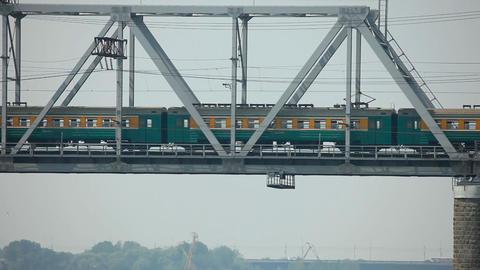 Railway bridge Stock Video Footage