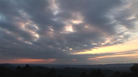 Dawn sky Stock Video Footage