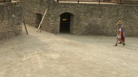 roman gaul arena 10 Stock Video Footage
