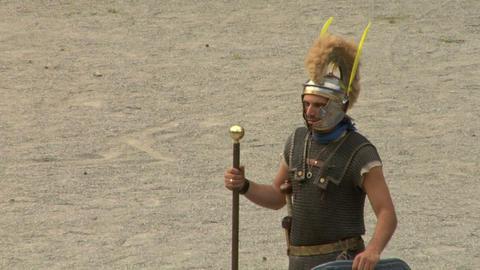 roman praetorian 11 Stock Video Footage