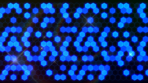 Hexagon 3 Aa 1 Flash HD Stock Video Footage