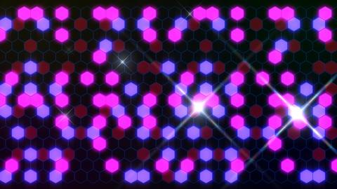 Hexagon 3 Aa 2 Flash HD Stock Video Footage