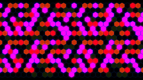 Hexagon 3 Ab 2 HD Stock Video Footage
