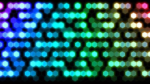 Hexagon 3 Ab 4 HD Stock Video Footage