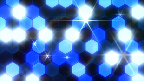 Hexagon 3 Bb 1 Flash HD Stock Video Footage