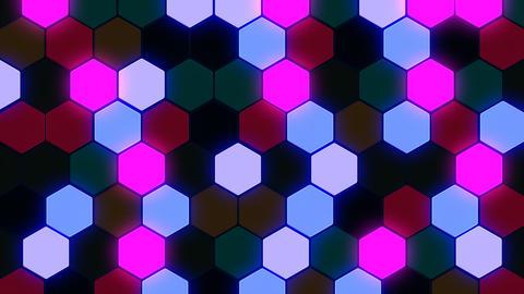 Hexagon 3 Bb 2 HD Stock Video Footage