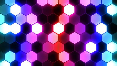 Hexagon 3 Bb 4 HD Stock Video Footage