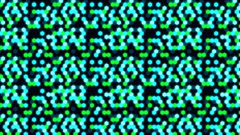 Hexagon 3 Ca 3 HD Stock Video Footage