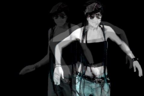 Multi Girl-Stop Motion Dance Stock Video Footage